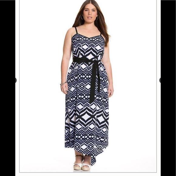 406e38b45b1 Lane Bryant Ikat Dress
